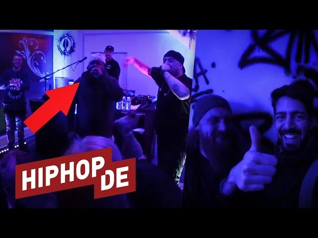Gänsehaut: Kool Savas wird von einer absoluten Hiphop-Ikone überrascht  – Aria Backstage