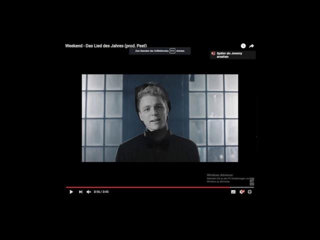 Jenemy - Das Lied nächsten Jahres (und des übernächsten und überübernächsten)