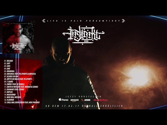 KIANUSH - INSTINKT Albumsnippet (17.02.2017)