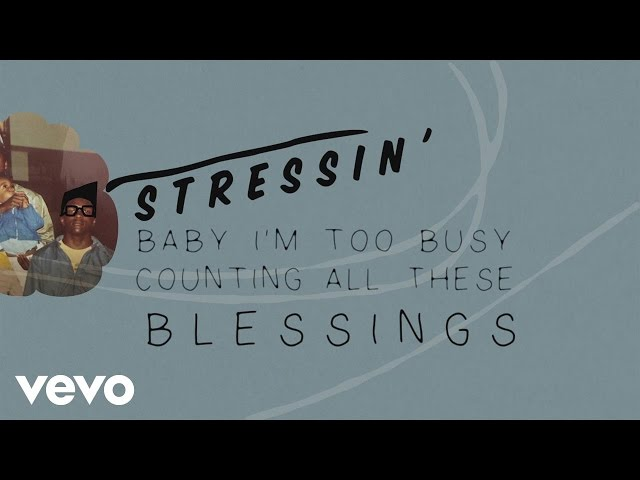 Lecrae, Ty Dolla $ign - Blessings (Lyric-Video)
