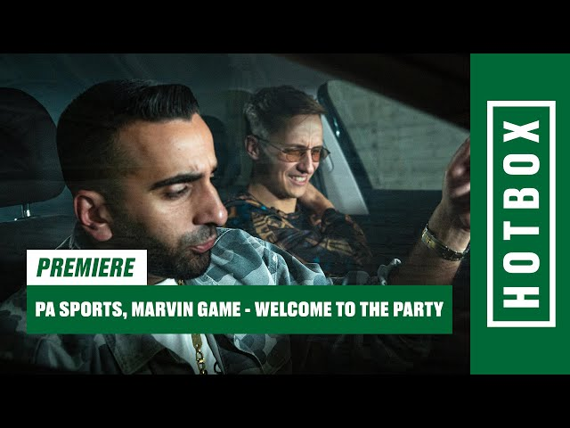 PA Sports, Marvin Game - Welcome To The Party (Hotbox Remix)