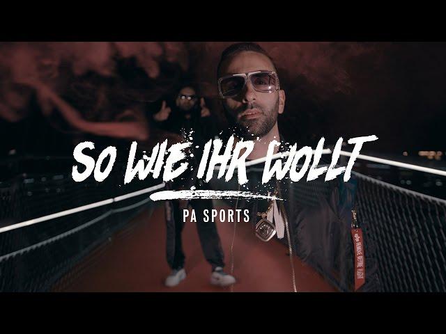 PA Sports - So wie Ihr wollt