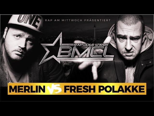 BMCL RAP BATTLE: MERLIN VS FRESH POLAKKE (BATTLEMANIA CHAMPIONSLEAGUE)