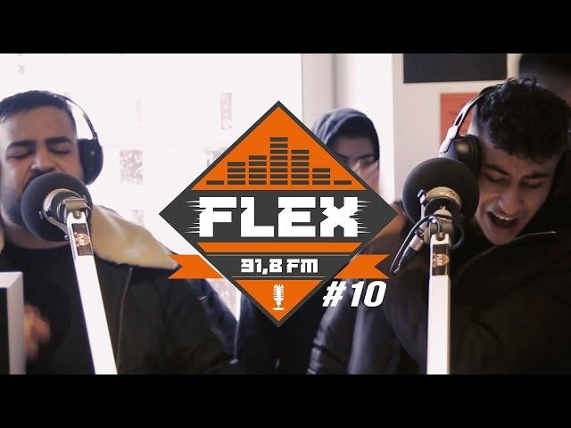 FleX FM - FLEXclusive Cypher 10 (Soufian & Azzi Memo - Hab die Strasse im Blut)