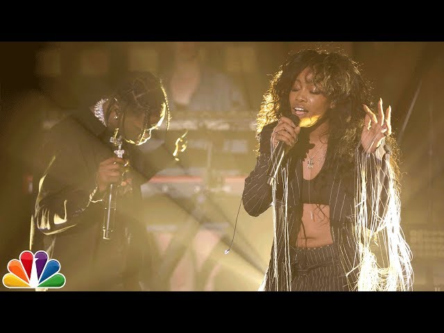 SZA, Travi$ Scott - Love Galore (Live)