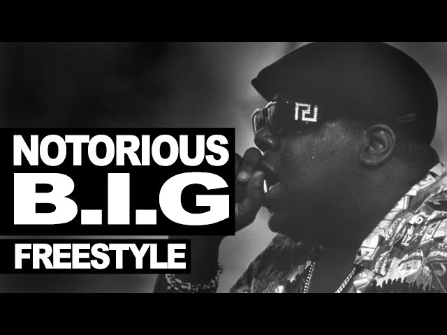 The Notorious B.I.G. freestyle 1995 #WeMissYouBIG