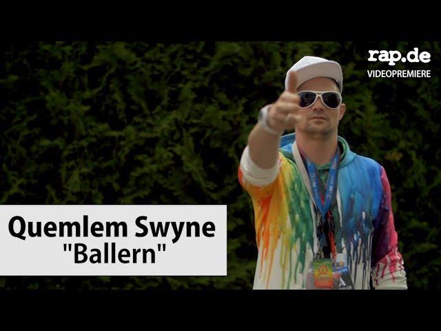 Trap-Album in 24 Stunden: Quemlem Swyne - Ballern | rap.de-Videopremiere