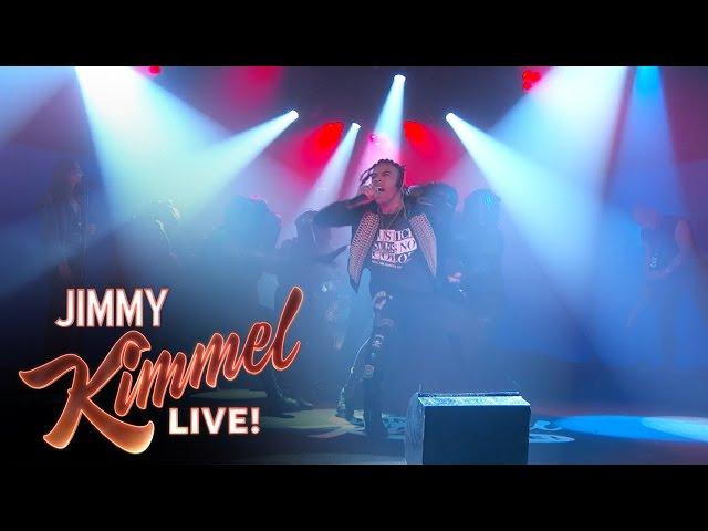 Vic Mensa - 16 Shots live bei Jimmy Kimmel