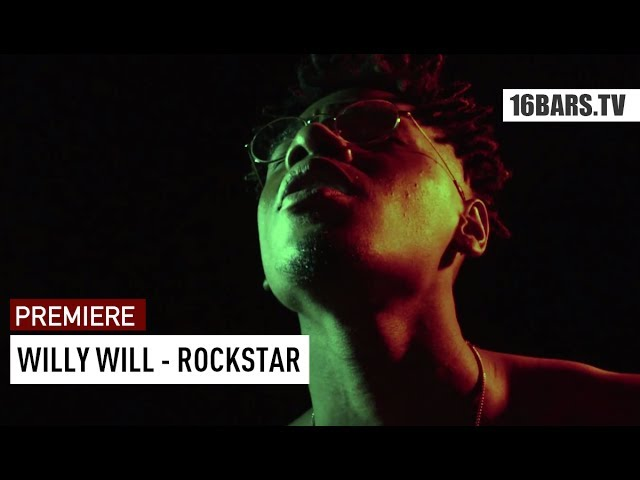 Willy Will - Rockstar (prod. by Jimmy Torrio) | 16BARS.TV Premiere